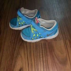 Nike Blue with Velcro straps Size 8C
